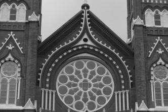 Horizontal view of St. Joseph's.